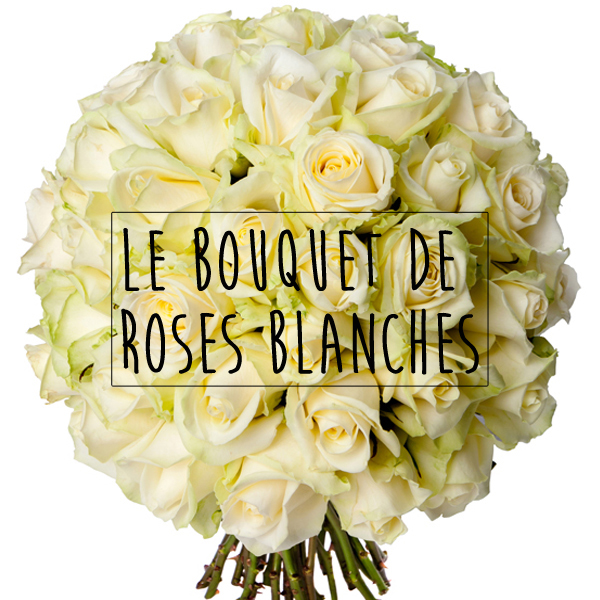 Actu archives france fleurs le blog for Bouquet de roses blanches